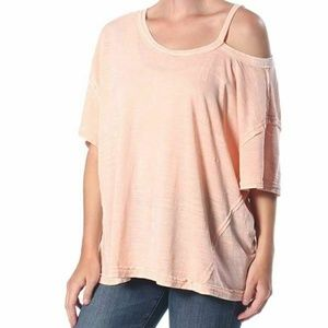 Free People XS Alex Cold Shoulder Top M7-05